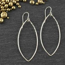 Just Marquise Earring: #4
