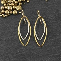 Just Marquise Earring: #24