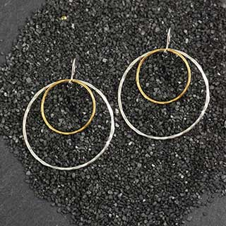 Just Rings Earring: #24  (MD) (e-jr24)