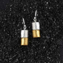 Double Barrel Earring