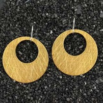 Md Punched Disc Earring