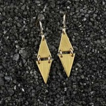 Double Small Triangle Earring