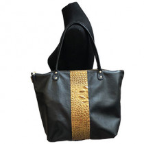 Dover Wide Leather Tote
