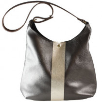 Russell Leather Shoulder Bag w/ 1stripe