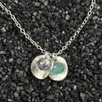 Double Baby Disc Necklace