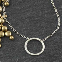 Heavy Oval Necklace