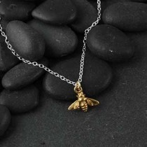 Itty Bitty Bee Necklace