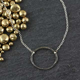 Just Ovals Necklace: #1 (n-jo01)