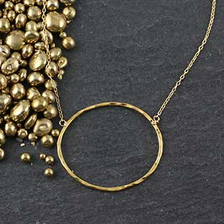 Just Ovals Necklace: #3 (n-jo03)