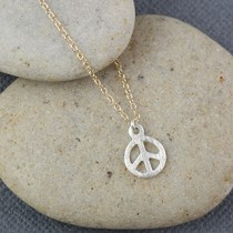 Peace Necklace: Small