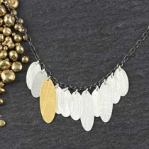 Multi-Skinny Oval Necklace