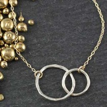 Double Linked Mixed Twiggy Necklace