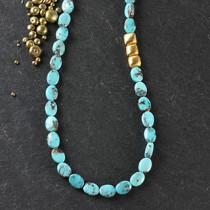 Turquoise Oval Full Necklace