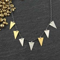 7 Triangle Necklace