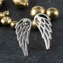 Itty Bitty Angel Wing Post Earring