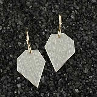 Modern Crazy Cut Earring (e-cjm0)