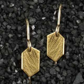 Small Diamond Point Earring (e-dps0)