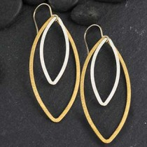 Double Marquise Earring: #24
