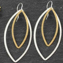 Double Marquise Earring: #25