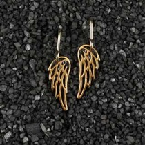 Itty Bitty Angel Wing Earring