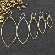 Just Marquise Earring: set of 5