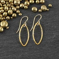 Just Marquise Earring: #1