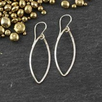 Just Marquise Earring: #2