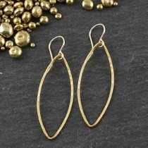 Just Marquise Earring: #3