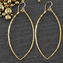 Just Marquise Earring: #5