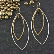 Just Marquise Earring: #25