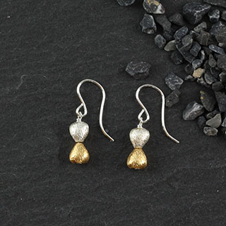 Dbl Micropear Earring (e-mmp2)