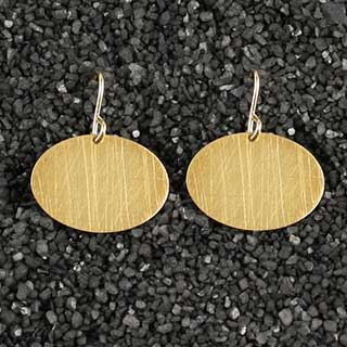 Medium Oval Earring (e-ovm0)