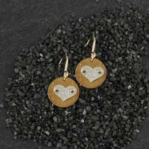Mini Disc Earring: icon