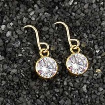 Solitaire Ear Ring: Large