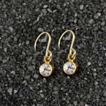 Solitaire Earring: Small