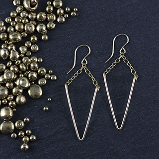 Wire Spike Earring (e-wik0)