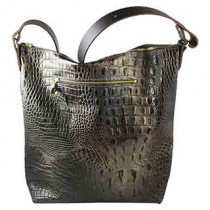 Dragonskin Grandlake Leather Bag