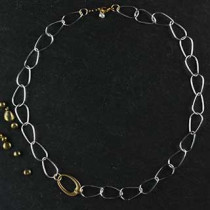 Chain and Egg Necklace