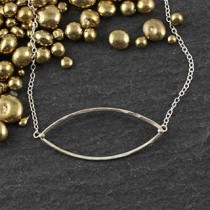 Just Marquise Necklace