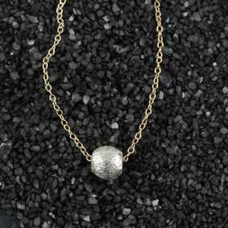 6mm Brushed Round Necklace (n-mmr6)