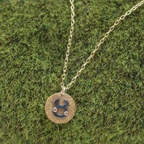 Mini Disc Necklace: Horoscope