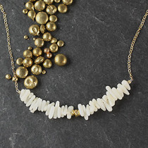 Shell Bar Necklace