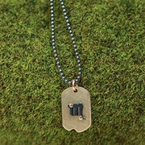 Sm Dog Tag Horoscope Necklace