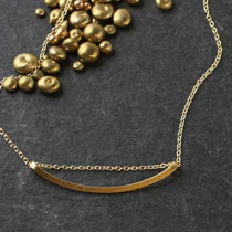 Slim Open D Necklace